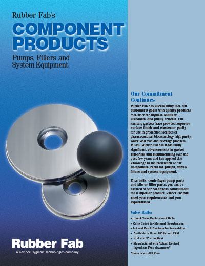 Valve & Pump Replacement Parts Literature