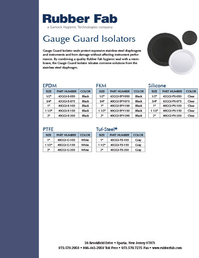 Gauge Guard Isolator