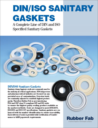Tri-Clamp® DIN/ISO Gaskets