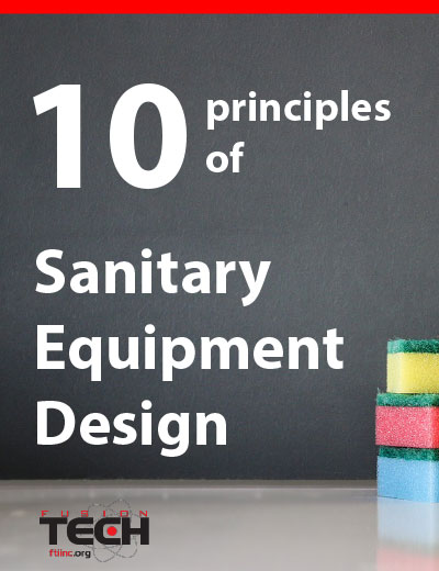 10 Principles of Sanitary Equipment Design