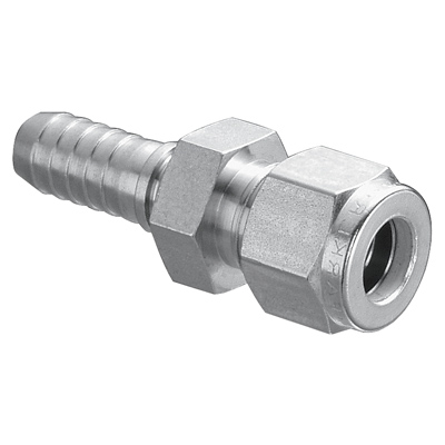 Compression Tube Connector w/ Ferrule & Nut