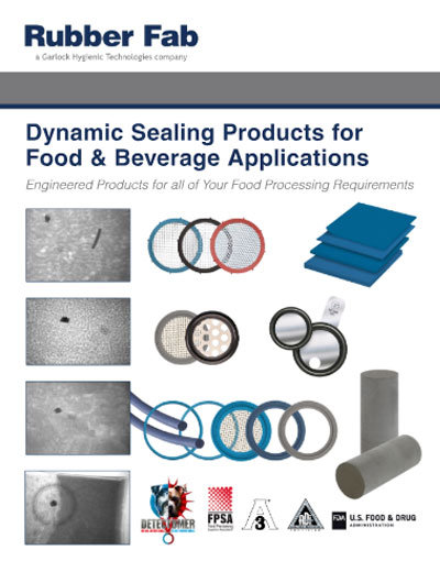 Food & Beverage Industry Gaskets Catalog