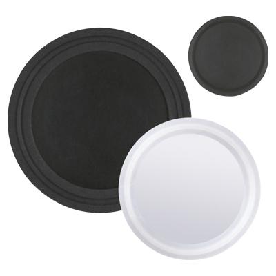 Black and white Gauge Guard Isolators