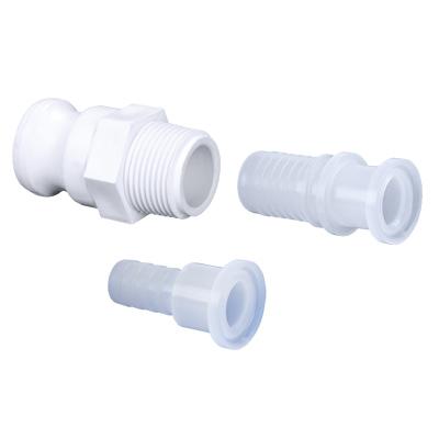 Non Metallic Fittings - Sanitary Tri Clamp - Rubber Fab