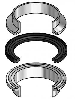 Tri-Clamp® Type II Flanged Sanitary Gaskets